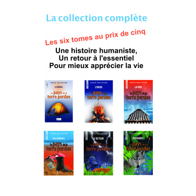 Collection Le Pays de la Terre perdue
